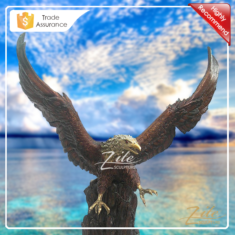 Best Selling Decorative Large Bronze Eagle Statue