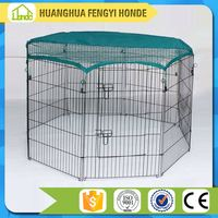 Foldable Pet Dog Playpen Kennel Crate