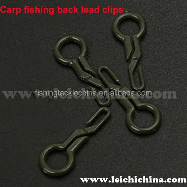 carp fishing terminal tackle back lead clips