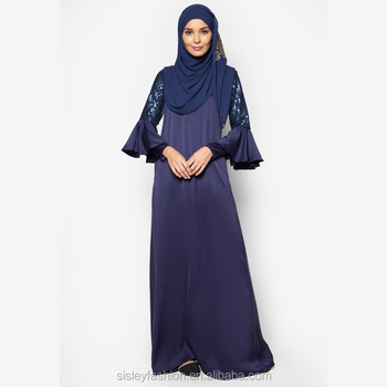 Casual dress dubai popular women long dress muslim jubah abaya 2016 kimono designs in pakistan A002