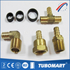 Tubomart Welcome OEM quick joint US style brass crimp fitting for pex gas pipe
