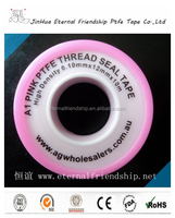 ptfe coated surface treatment and plain woven weave type high temperature black ptfe tape