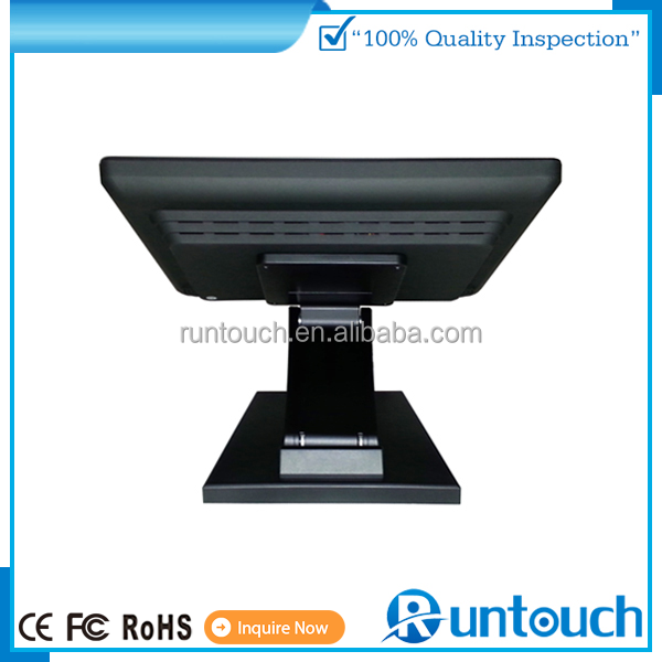 Runtouch RT-1500 Easy to use PC based touch screen Point of Sale display touch screen 15 inch