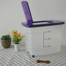 Eco-Friendly Feature and Plastic Material large rice bin storage