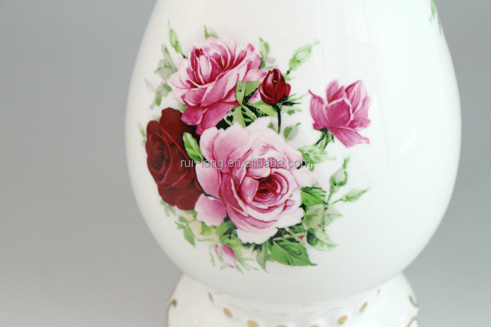 China Ceramic Painting Design Decoration Flowers Vase Buy Ceramic
