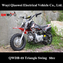 QWMOTO 50cc 4 stroke children motorcycle cheap Chinese 50cc dirtbike for sale