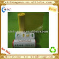 HDPE heat seal yellow disposable garbage bag on roll
