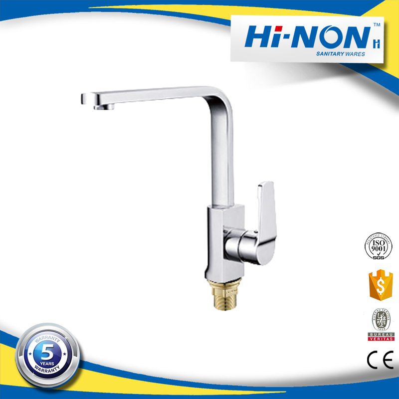 New style popular chrome polished kitchen basin tap