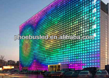 waterproof function led outdoor display modules in tall bulidings,led big display screen,outdoor led large screen