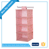 PP Non-woven Fabric Portable Suspension Type Living Home Fabric Wall Hanging Storage Organizer