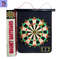 yiwu factory good quality 12 inch magnet dartboard with dart portable dartboard stand customized logo wholesale dartboard
