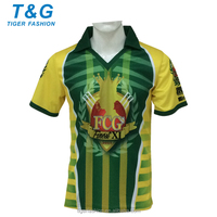 New design sublimated cricket jerseys