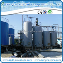 waste tyre oil recycling to diesel plant withCE/ISO purified oil distillation