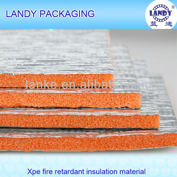 Heat reflective roof foam insulation board xpe material