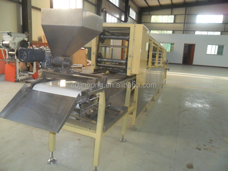 instant noodle production line noodle straightening and dividing machinery