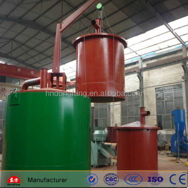Factory supply activated carbon coconut shell charcoal making machine