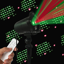 Factory offer waterproof IP44 star christmas laser lighting for outdoor used