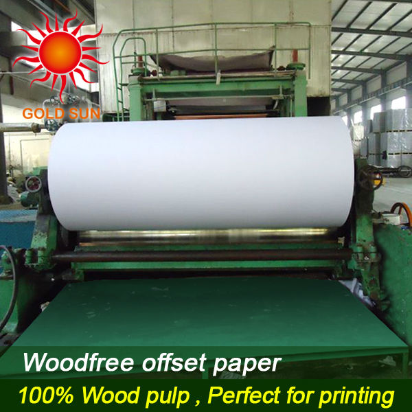 Stock lot offset printing paper