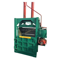 Waste paper baling machine / hydraulic carton compress baler packing machine