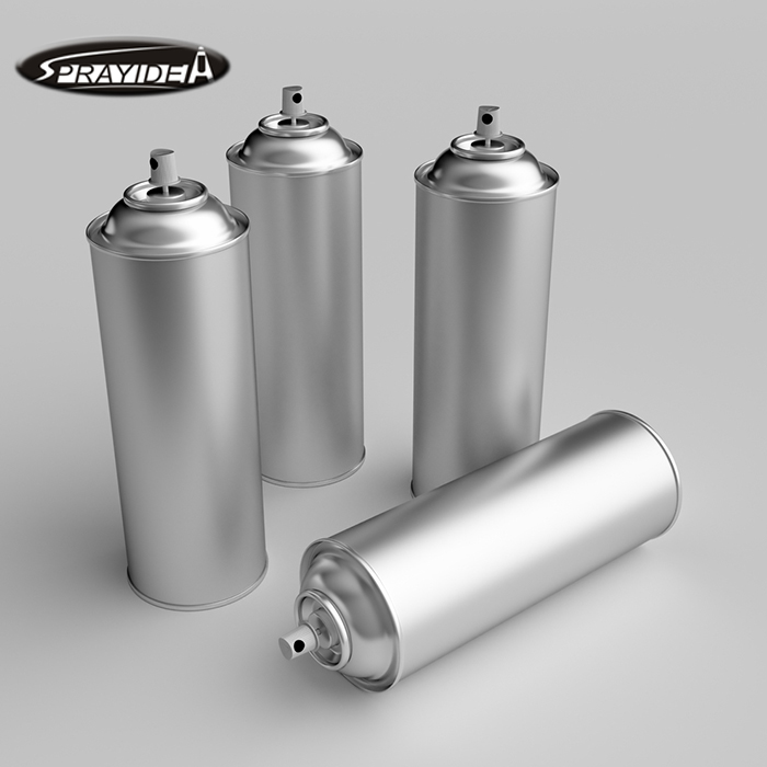 Custom Refillable Empty Aerosol Spray Tin Can