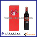 cardboard gift wine glass twisted gift packaging box
