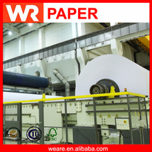 55g Low Weight Gsm Woodfree Offset Printing Paper in Reels