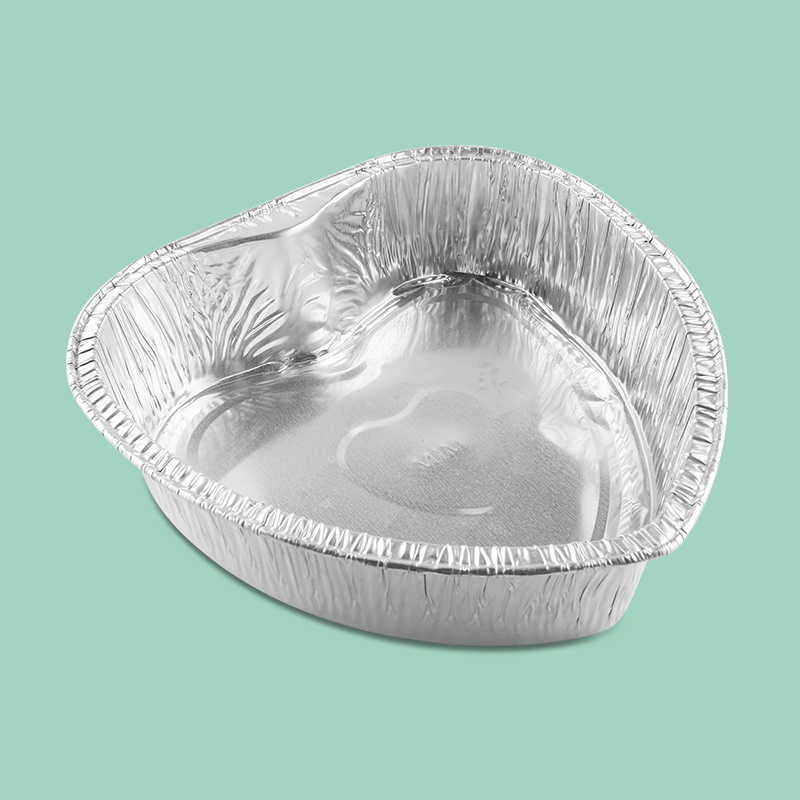 airline food preservation disposable custom aluminum foil bowl