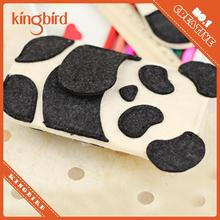 New Arrival Cute Panda felt Envelope Case Cover