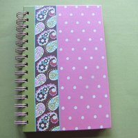 Beautiful Customer Design Diary Book