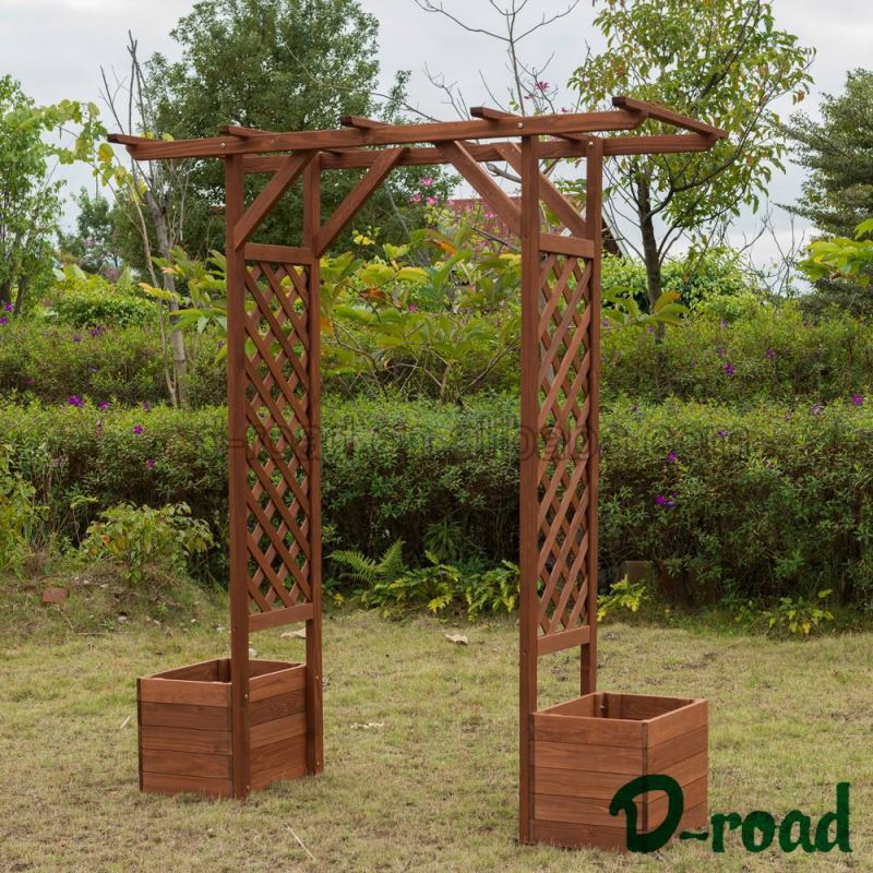 100% Warranty Make Your Own Design Garden Wooden Arch