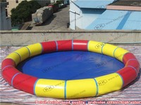 Round Outdoor Inflatable Pool for Children inflatable pool table
