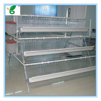 China manufacture high quality animal wire mesh cages for layer chickens