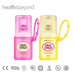 Mouth spray for bad breath breath freshener spray with lemon flavor