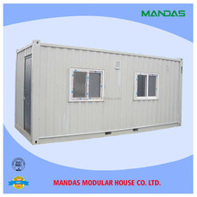 Fast Installation and Anti-earthquake Portable Movable Prefab Flatpack Office/Living Room/ Container House