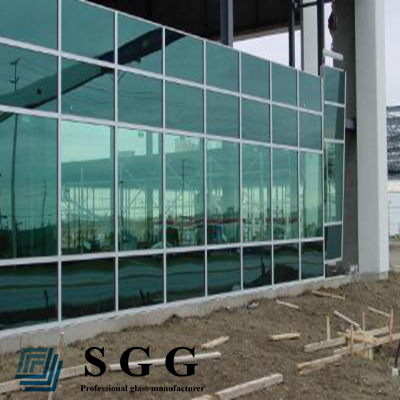 High Quality tempered spider curtain wall glass