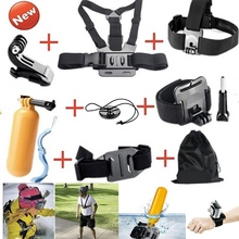 9 in1 Hero5 accessories kit Chest Head Strap Mount for gopros action camera accessories
