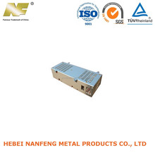 Stamping sheet metal box for electronic product