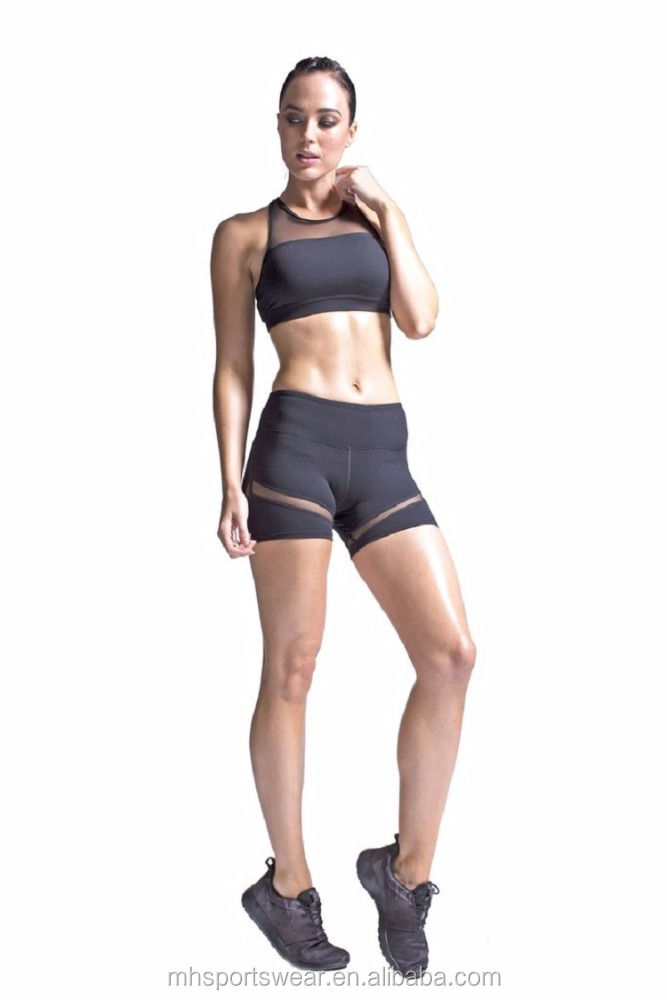 Ladies Compression Tights Shorts Girls Sexy Tights Shorts Women Training Shorts