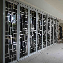 aluminum room partition Decorative metal exterior curtain wall