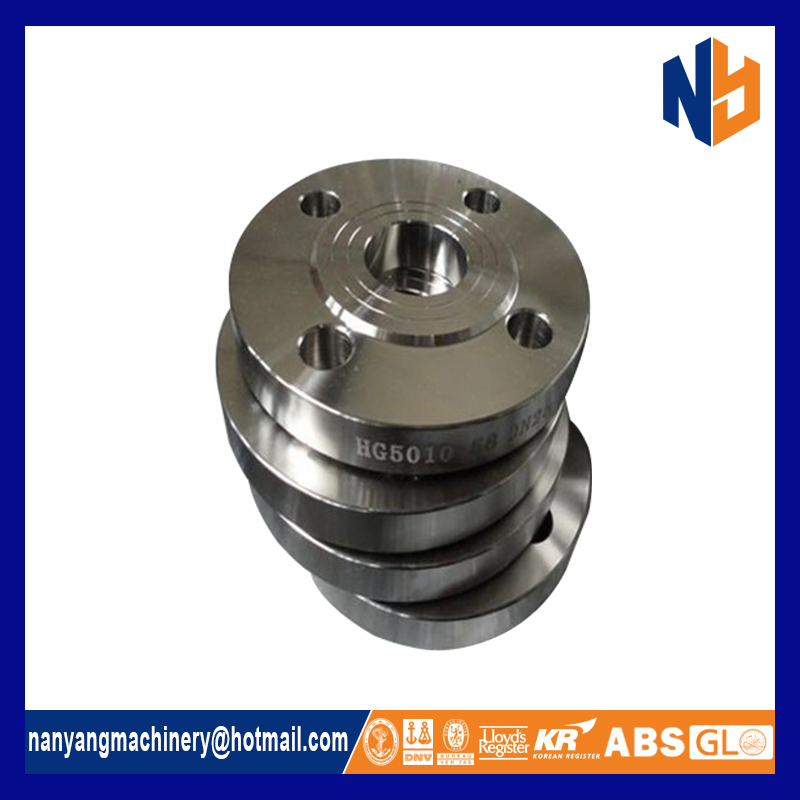Different dimension slip on sanitary stainless steel flange