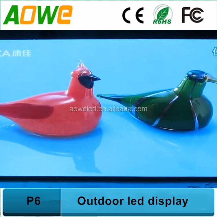 LAN/Wifi/3G intelligent management P3/P4/P5/P6 series led moving screen