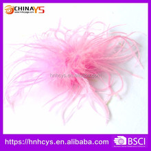 Perfect Shower Gift Boutique Baby feather hair flower clips for decoration