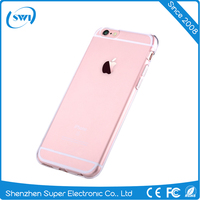 china manufacturer factory price 0.6mm ultra-thin 360 degree Crystal clear design hard pc case for iphone 6 6s