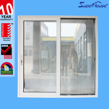 superhouse aluminium electric tempered glass house windows for sale