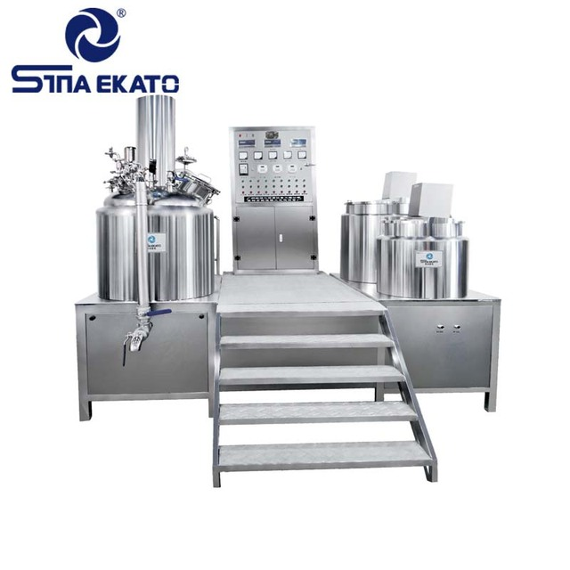 Guangzhou Vacuum Emulsifying Mixer Chemical Emulsifier Cosmetic , Pharmaceutical Homogenizer Price