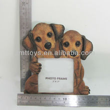 3x3 inch resin picture frame supplier with dog standoff