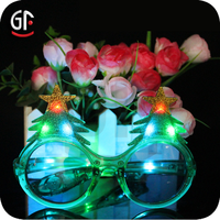 Electronic Novelties Party Favor Multicolored Christmas Promotional Party Glasses