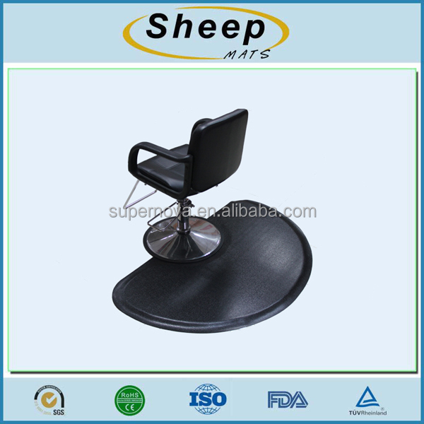 Wholesale Cheap Hair Salon Black Chair Mats Floor Mat For Sale