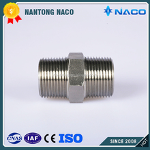 Straight Male 316 Stainless Steel bsp to npt thread adapters