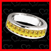 Customized fashion silver wedding ring jewellery for new couples